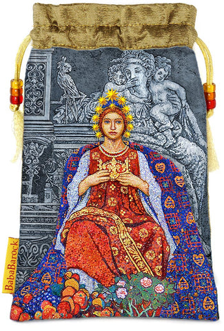 Tarot of Prague limited edition bag in Empress print.