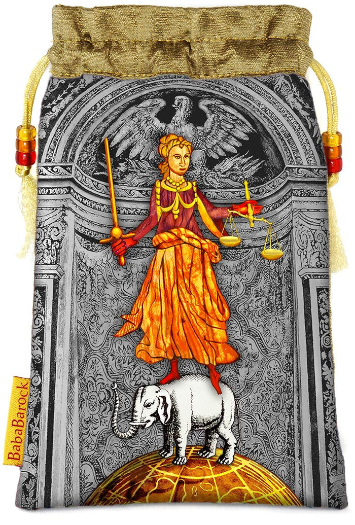 Tarot of Prague limited edition bag in Justice print. . - Baba Store - 1