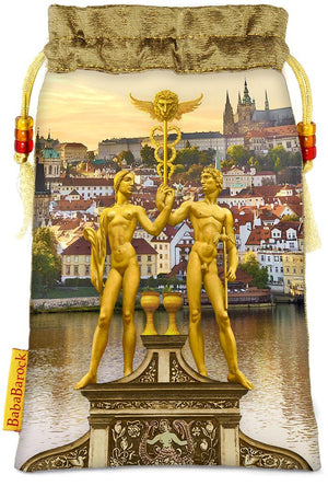 Tarot of Prague limited edition bag in Two of Cups print. - Baba Store - 1