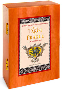 The Tarot of Prague limited edition deck. With wooden box.