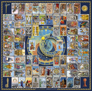 The Tarot of Prague. Limited edition LARGE FORMAT tarot cards. Baba Store - 13