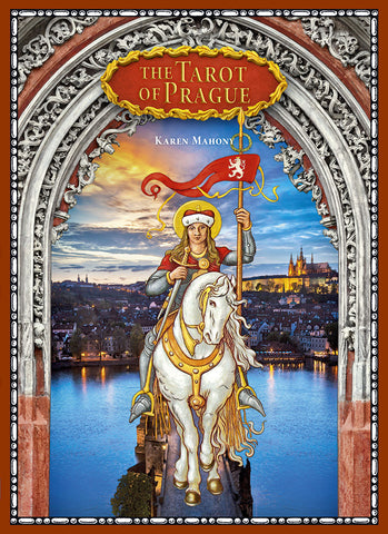 The Tarot of Prague companion book.