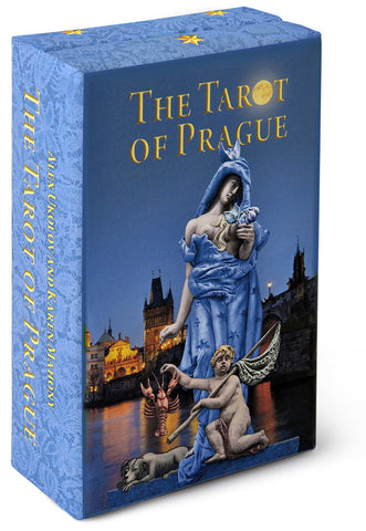 The Tarot of Prague standard size.