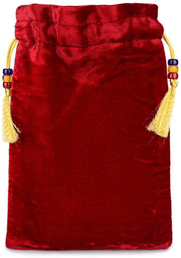 The Herald — burgundy silk velvet - Baba Store - 2