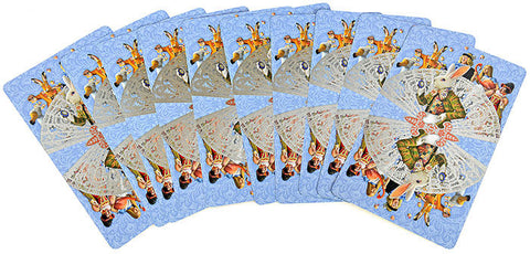 Set of ten illustrations from The Alice Tarot