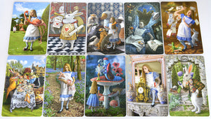 Set of ten illustrations from The Alice Tarot - Baba Store - 3