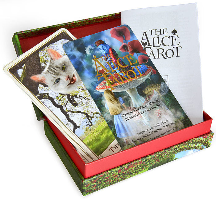 The Alice Tarot  — Standard deck. - Baba Store - 3