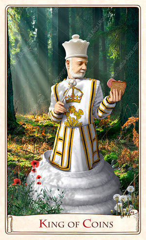 The Alice Tarot, baba studio, alice in wonderland, looking glass, chess, tarot cards