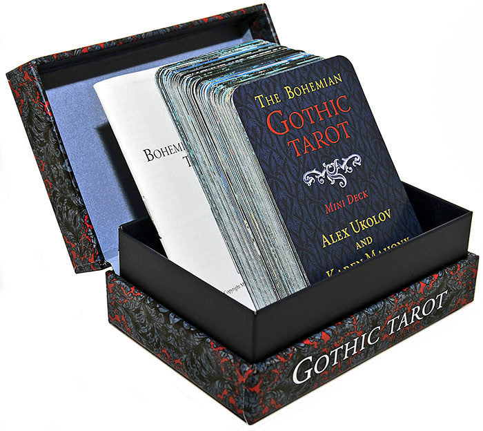 The Bohemian Gothic Tarot third edition, MINI deck - Baba Store - 2
