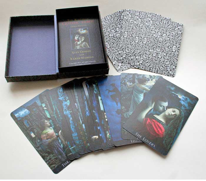 The Bohemian Gothic Tarot third edition, standard size - Baba Store - 28