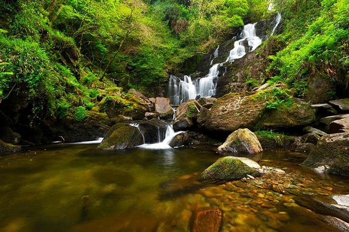 waterfall, torc, killarney,magic ireland tour, magical ireland, irish myth, Irish legends, fairytales