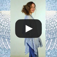 Wings of an Angel, pale version, soft viscose scarf/wrap. - Baba Store - 2