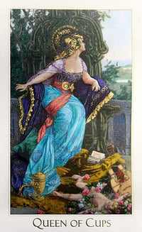 The Victorian Romantic Tarot GOLD limited edition. - Baba Store - 11