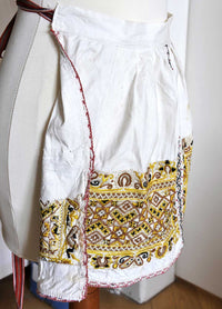 Czech/Moravian antique child's kroj folk costume - rare find and wonderful hand work. - Baba Store - 5