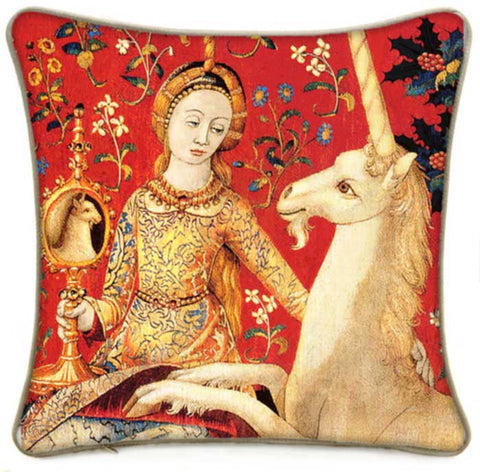 The Lady and the Unicorn cushion/pillow - Baba Store - 1