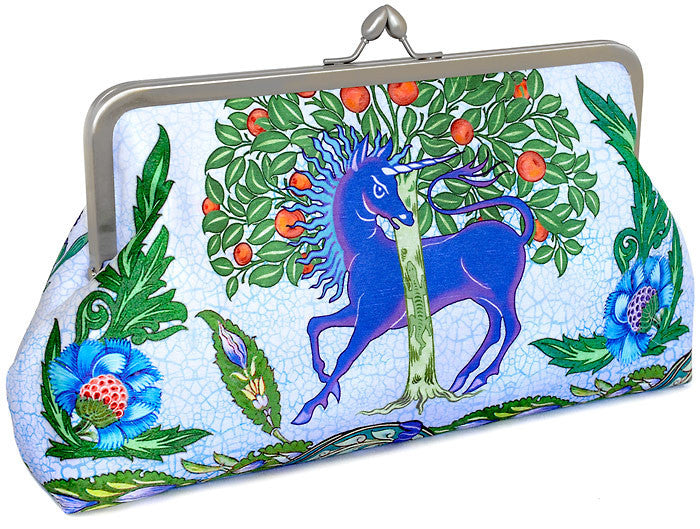 Mythical Beasts, 10 inch size in dupion, lavender colour - Baba Store - 2