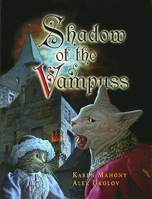 Shadow of the Vampuss, bohemian cats, vampire, dracula, kitty, bram stoker