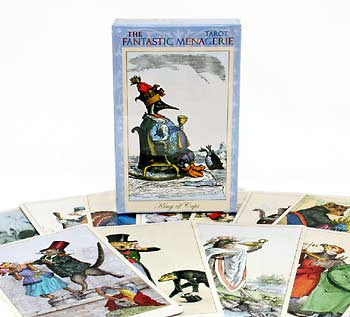 The Fantastic Menagerie Tarot — deck - Baba Store - 1