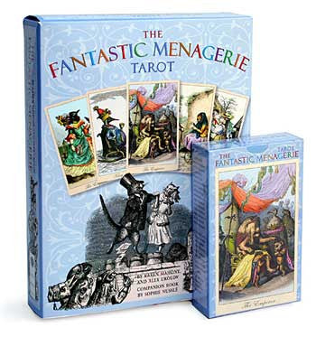 The Fantastic Menagerie Tarot — deck - Baba Store - 3