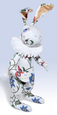"The White Rabbit ""Dreams of Flora"" art doll — One off - Baba Store - 1"