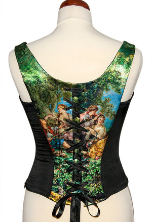 Baroque Swing, with black stretch silk - Baba Store - 2