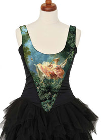 Baroque Swing, with black stretch silk - Baba Store - 3