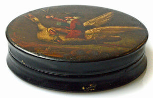 """Scissorman"" fairytale box. 19th century and probably by Stobwasser."