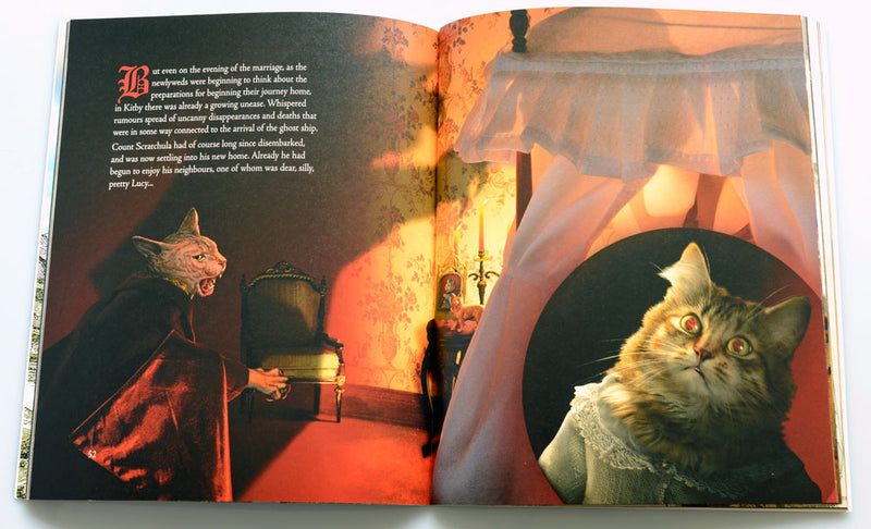 shadow of the vampuss, vampire kitty, vampyre, bram stoker, dracula, comedy, parody, cats, kitties