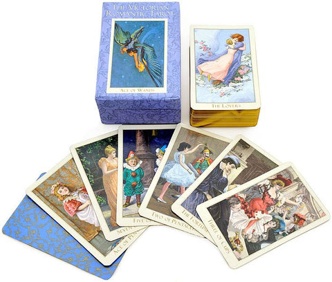 Victorian Romantic, second edition, Tarot MINI Deck — Sold out