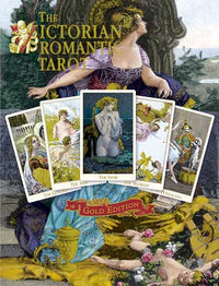 The Victorian Romantic Tarot GOLD limited edition. - Baba Store - 3