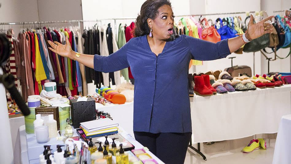 We spied... Oprah Behind the Scenes!
