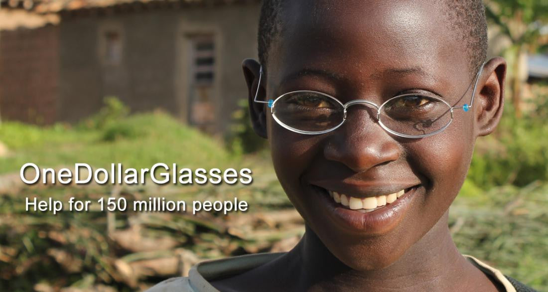 eye spies Partnership with OneDollarGlasses.org