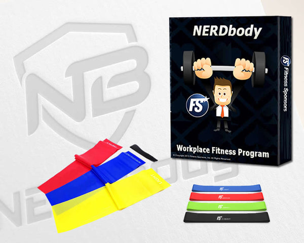NERDbody Fitness System  with Basic Band Set