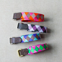 READY TO SHIP Skinny Double Square Loop Belt