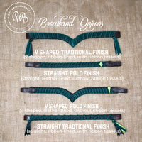 Boy O Boy Bridleworks Browband Types