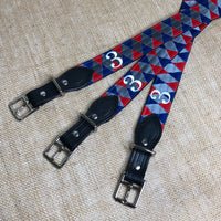 Boy O Boy Bridleworks USHJA Zone 3 Jumper Team Stirrup Buckle Belts