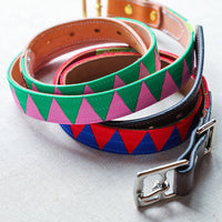 Boy O Boy Bridleworks Skinny Stirrup Buckle Belts Lining