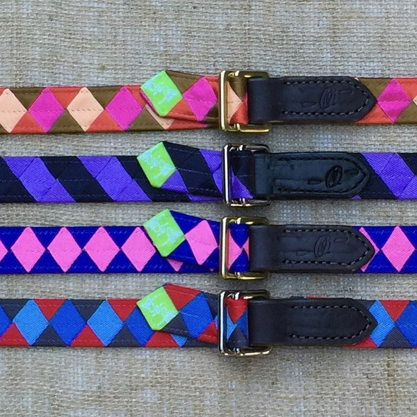 Boy O Boy Custom Skinny Double Square Loop Belt