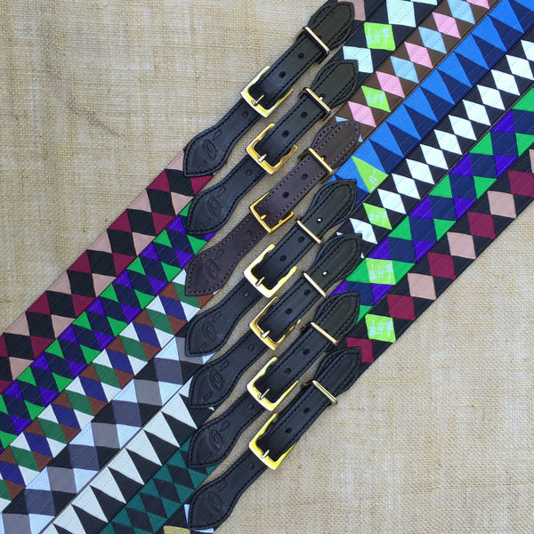 Boy O Boy Bridleworks Custom Grosgrain Polo Finish Browband