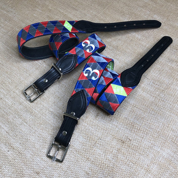 Boy O Boy Bridleworks USHJA Zone 3 Jumper Team Double Square Loop Belt Lifestyle