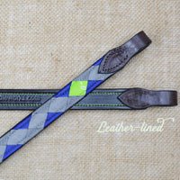 Boy O Boy Bridleworks Ready-to-Ship Chantilly Polo Finish Browband Leather Lined