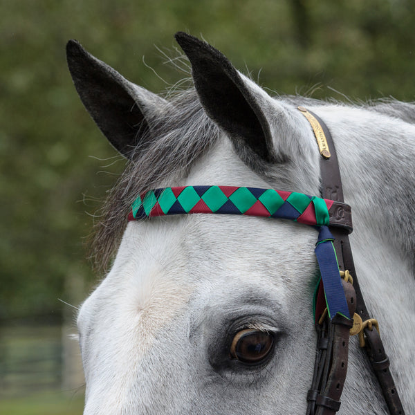Custom V-Shaped Browband