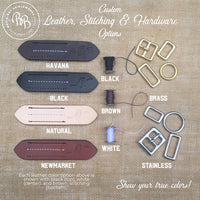 Boy O Boy Bridleworks Custom Leather Stitching Hardware Options