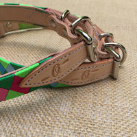Boy O Boy Bridleworks Custom Dog Collar with Buckle Hardware
