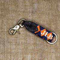 Boy O Boy Bridleworks Embroidered Trigger Snap Keychain