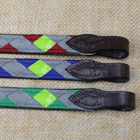 Boy O Boy Bridleworks Ready-to-Ship Chantilly Polo Finish Browband
