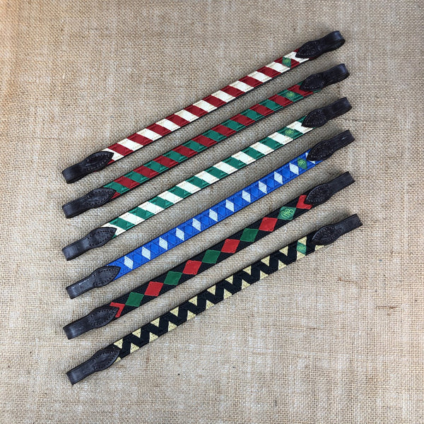 Ready-to-Ship HOLIDAY Polo Finish Browbands