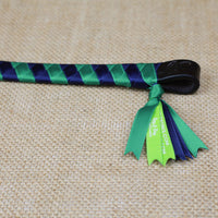 Boy O Boy Bridleworks Ready-to-Ship Haymarket Satin Polo Finish Browband Tassel