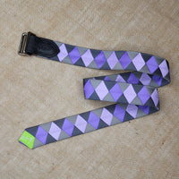 WARRENTON Ready-to Ship Old Favorites Double Square Loop Belt Verdigris Lilac