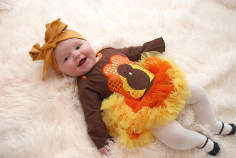 Customer Turkey Onesie Tutu Dress